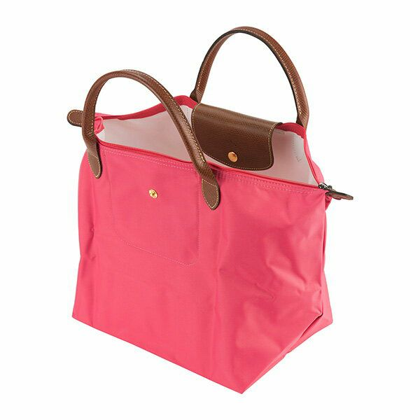 buy online eccba e022b ロンシャン(LONGCHAMP) ハンドバッグ 1623 089 B49 LE PLIAGE ル・プリアージュ TOP-HANDLE M  FLEURS(フルール) ピンク